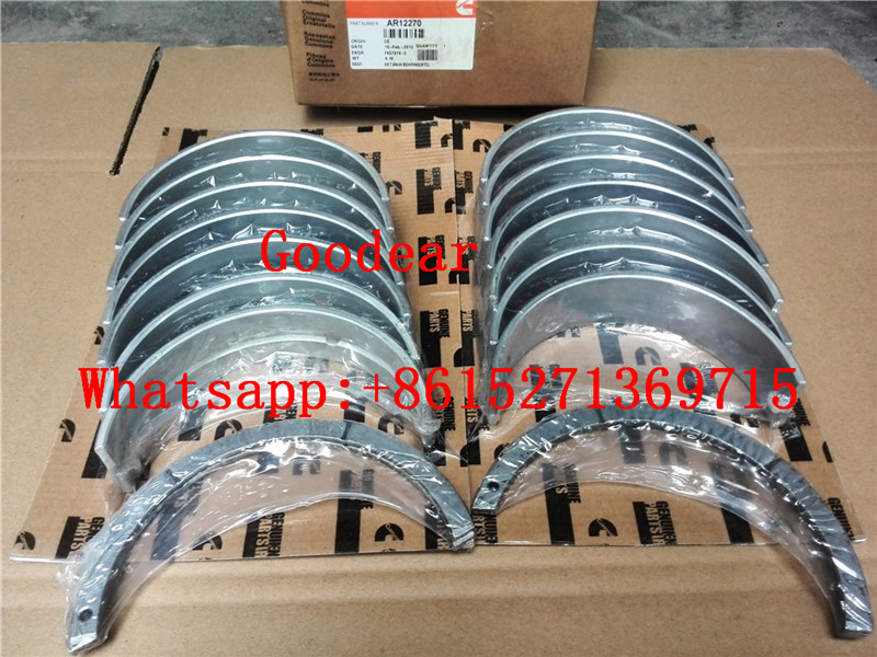 Chongqing Cummins k19 diesel engine crankshaft bearing AR12270