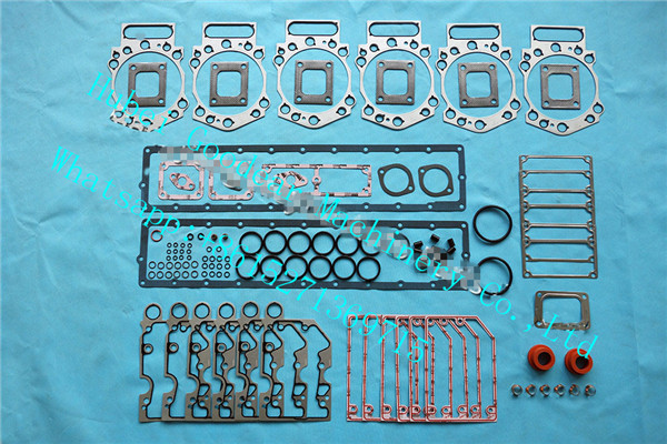 Chongqing cummins K19 diesel engine upper gasket kit 3800728/4352578