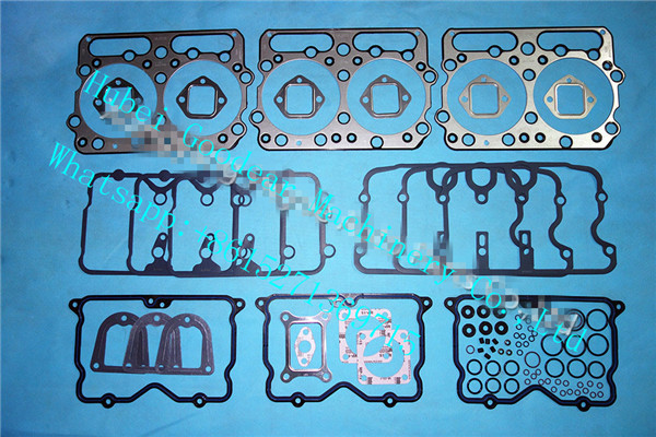 Chongqing cummins NTA855 diesel engine upper gasket kit 4024919/3801754