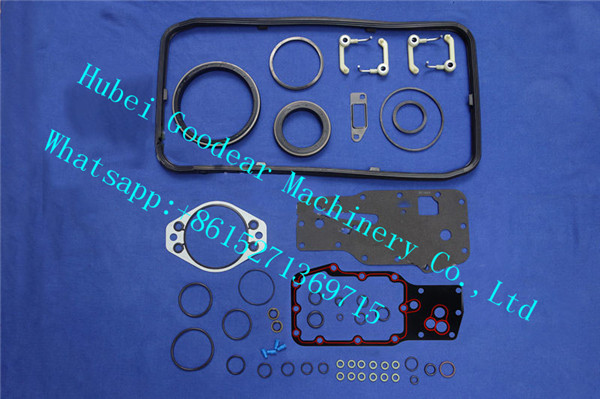 Dongfeng cummins ISBE diesel engine lower gasket kit 4025108