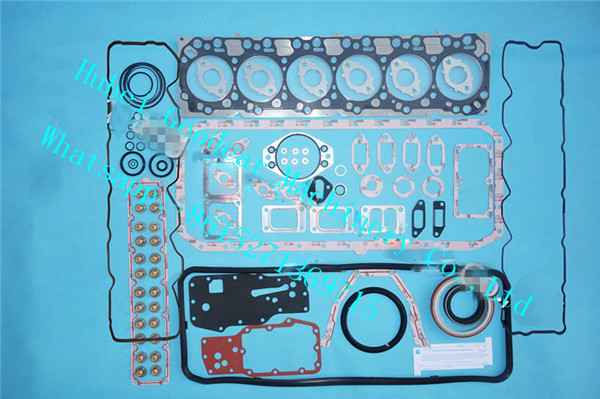 cummins for komatsu diesel engine 6D107 lower/upper gasket kit