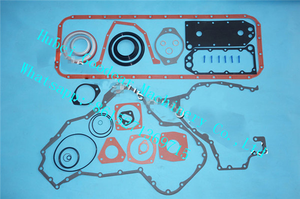 cummins for komatsu diesel engine 6D114 lower gasket kit