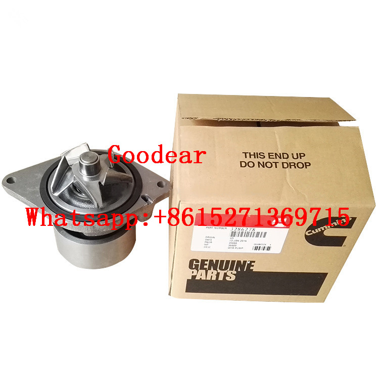 Dongfeng cummins 6BT diesel engin water pump 3285414/3285410