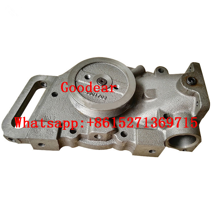 Chongqing cummins NTA855 diesel engine water pump 3801708