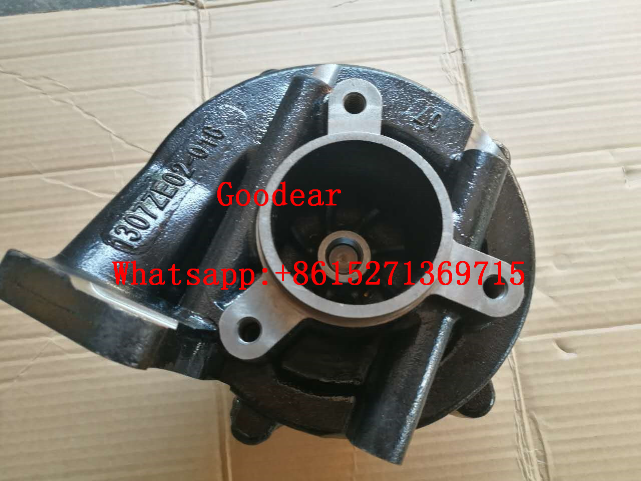 Dongfeng cummins QSZ diesel engine water pump 4327408