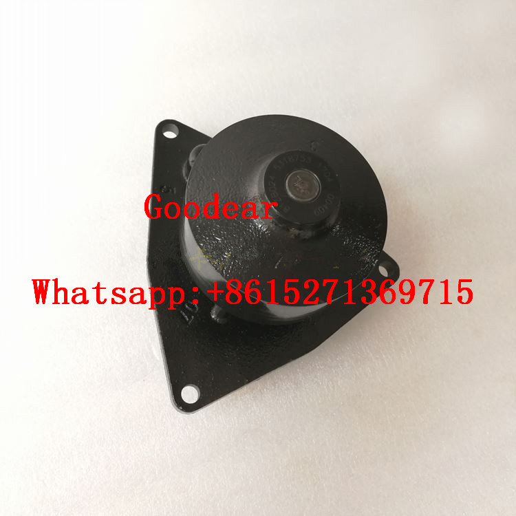 Dongfeng cummins 6L diesel engine water pump 5318753