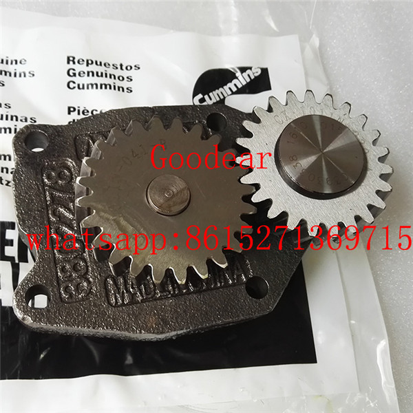 Dongfeng cummins 6CT diesel engine oil pump 3930338/3918213