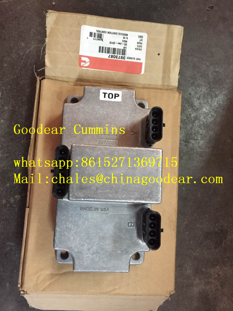 Dongfeng Cummins 6CT gas engine electronic control unit 3973087