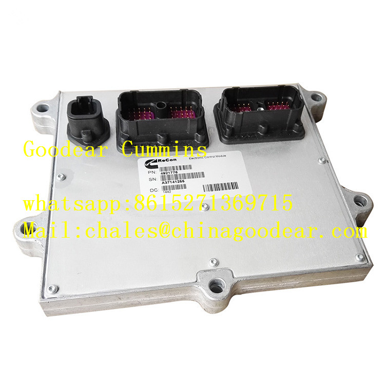 Dongfeng Cummins IBSE diesel engine electronic control unit 4921776 for komatsu