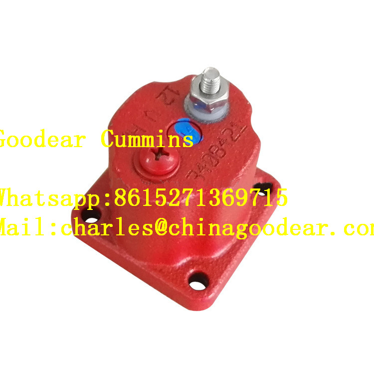 Xi'an cummins QSM11 diesel engine flame-out solenoid valve 3408421/3054608