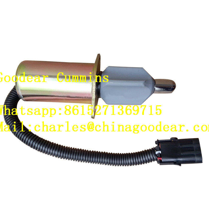 Dongfeng cummins for coach engine flame-out solenoid valve 3921978