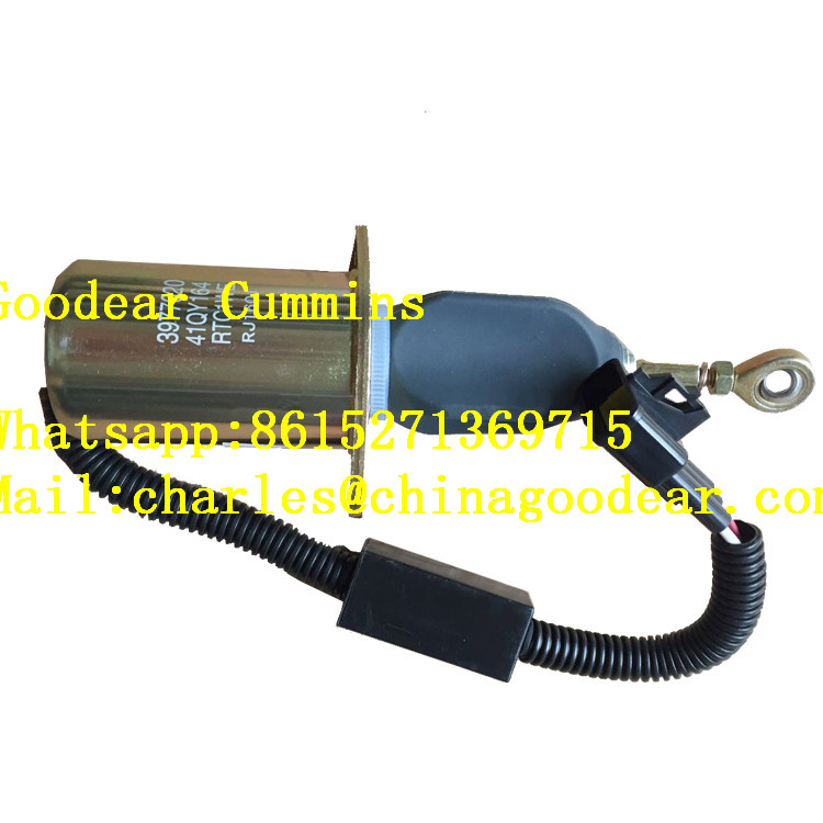 Dongfeng cummins for 6L truck engine flame-out solenoid valve 3977620