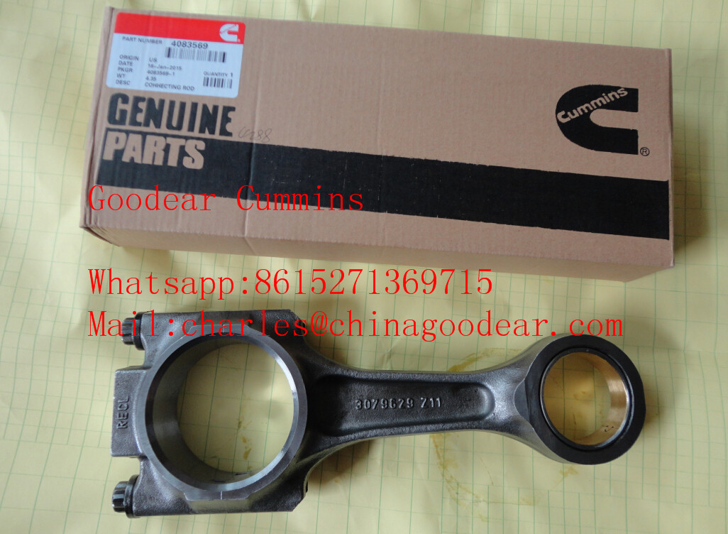 Xi'an Cummins M11 diesel engine connecting rod 4083569/3027107