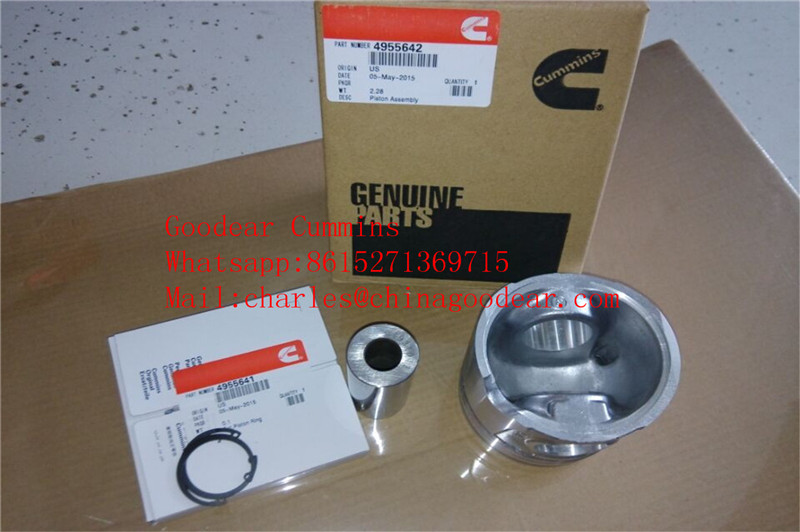 Dongfeng cummins ISDE diesel engine piston 4955642 in stock