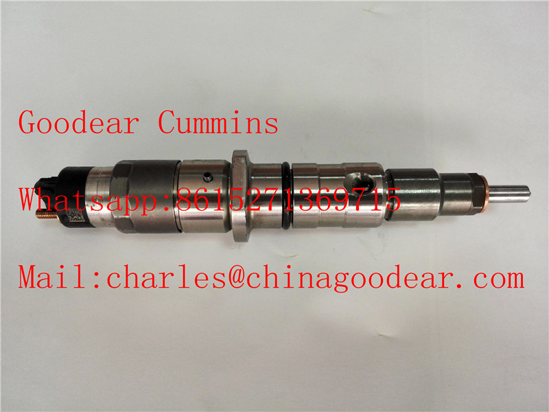 Dongfeng cummins QSL9 diesel engine fuel injector 5263308/0445120236