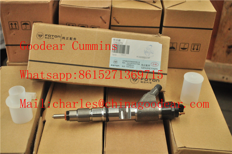 Foton cummins isf3.8 diesel engine fuel injector 5283275/0445120134