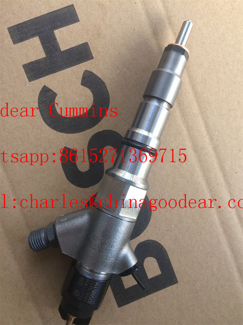 Dongfeng cummins diesel engine BOSCH fuel injector 0445120153 for kamaz