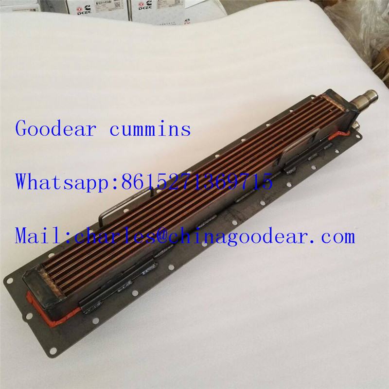 Chongqing cummins K19 diesel engine oil cooler 3001299 4910355