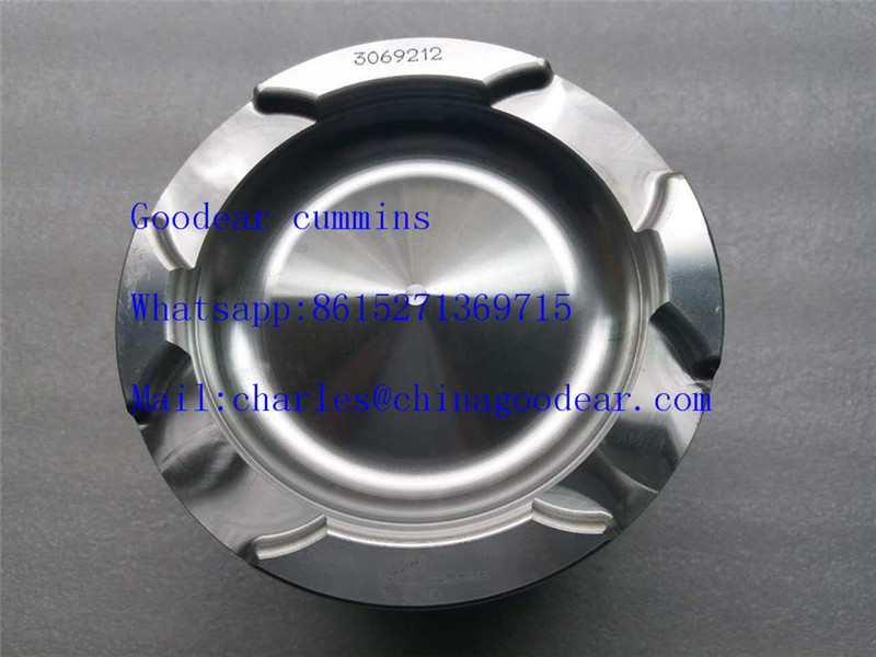 Chongqing cummins NTA855 diesel engine piston 3069212,4024785