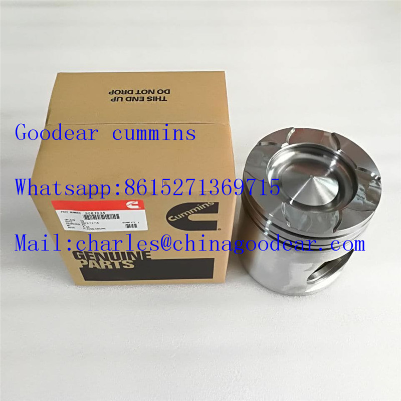 Chongqing cummins N14 diesel engine piston 3087634,33087635