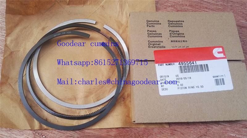 Dongfeng cummins ISDE diesel engine piston ring 4955641,4931044