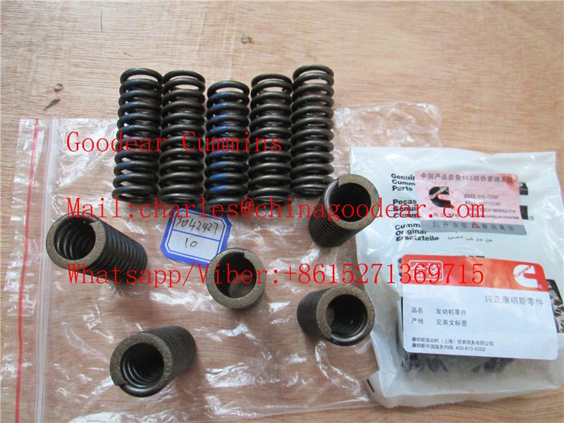 Chongqing cummins k38/k50 diesel engine fuel injector spring 3042427