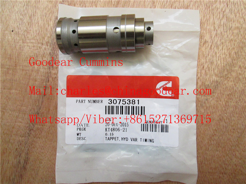 Chongqing cummins k38/k50 diesel engine hyd var timing tappet 3075381