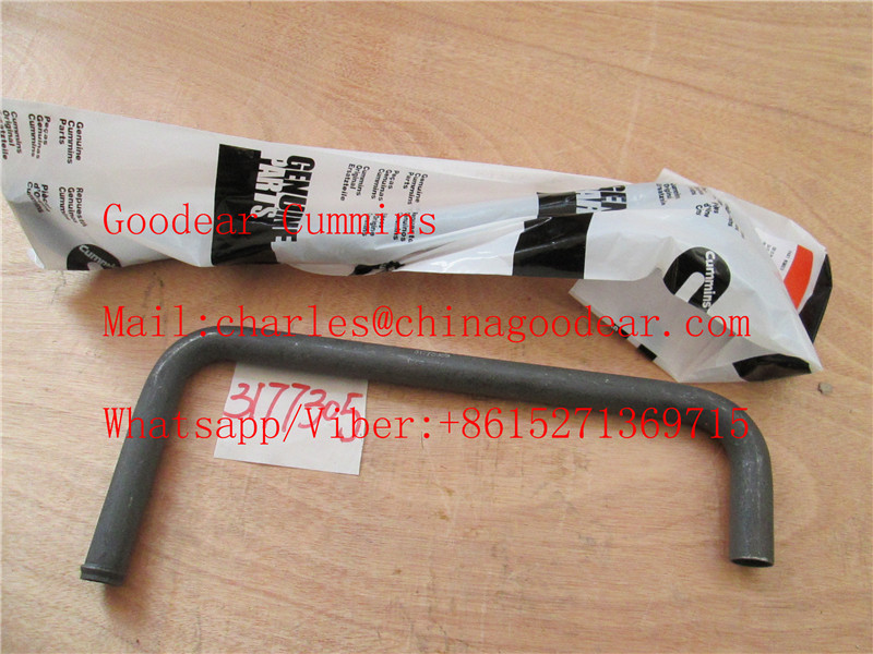 Chongqing cummins k38/k50 diesel engine water transfer tube 3177305