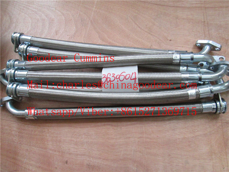 Chongqing cummins k38/k50 diesel engine flexible pipe 3630604