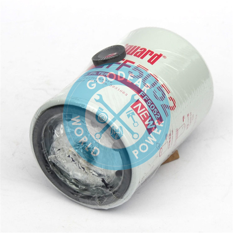 Dongfeng cummins diesel engine fleetguard fuel filter LF5052