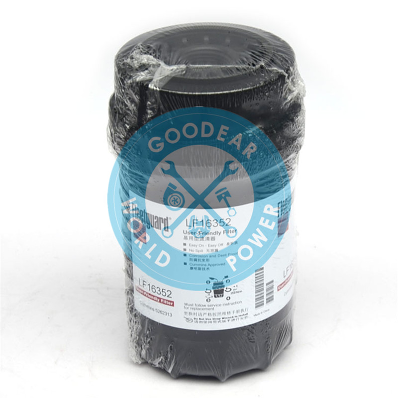 Foton cummins isf3.8 diesel engine fleetguard oil filter LF16352 5262313